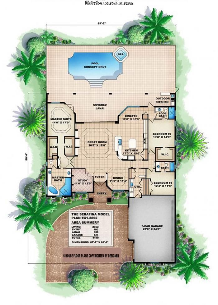 DECENT Floor Plan: Move Garage To Back, And Make Sure Wall Between Master  And Rest Of House Is Sound Proofed.