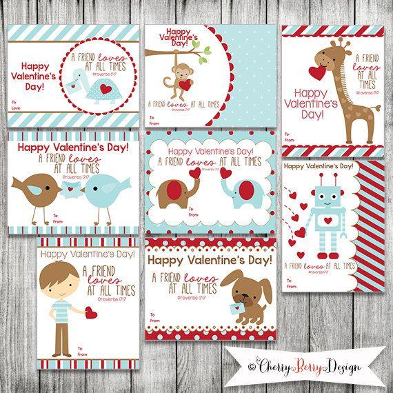 boy valentine cards scripture bible verses valentine cards for kids set of 8 - Boy Valentine Ideas