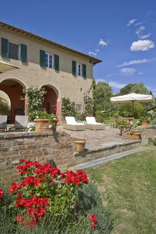 Location Maison En Toscane, Villa Avec Piscine Privée à Palaia, Province De  Pise, Référence Palaiese