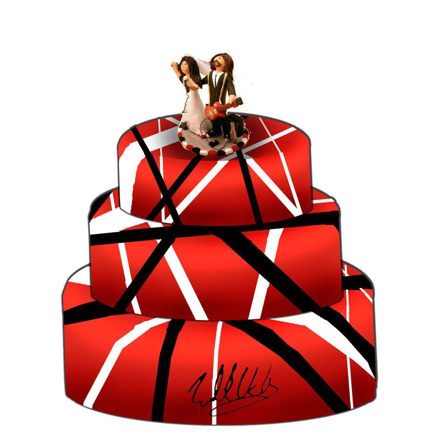 Van Halen Wedding Cake Van Halen Eddie Van Halen Wedding Cakes