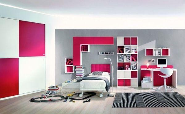 Chambre de fille ado en 20 idées de design et décoration Zimmer