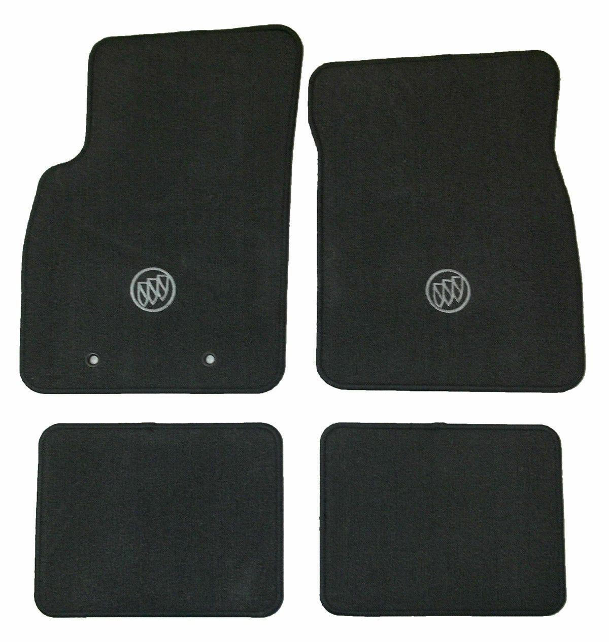 20082011 Buick Lucerne Floor Mats Floormats Black Ebony