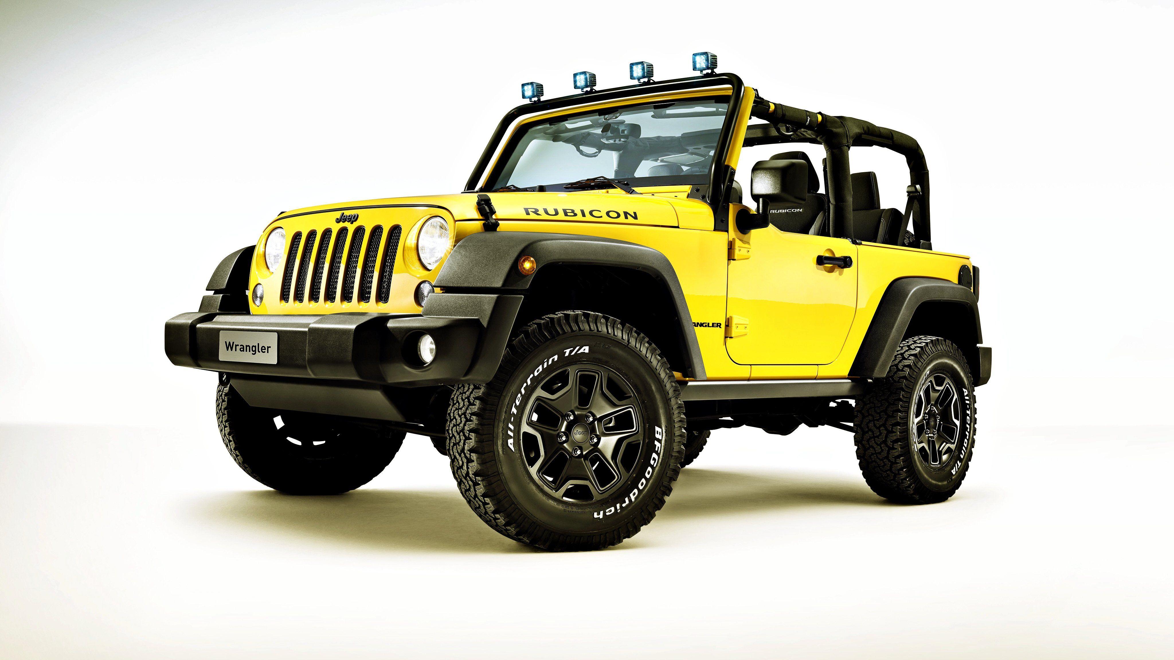 2015 Jeep Wrangler Rubicon Star Rocks jeep Wrangler yellow