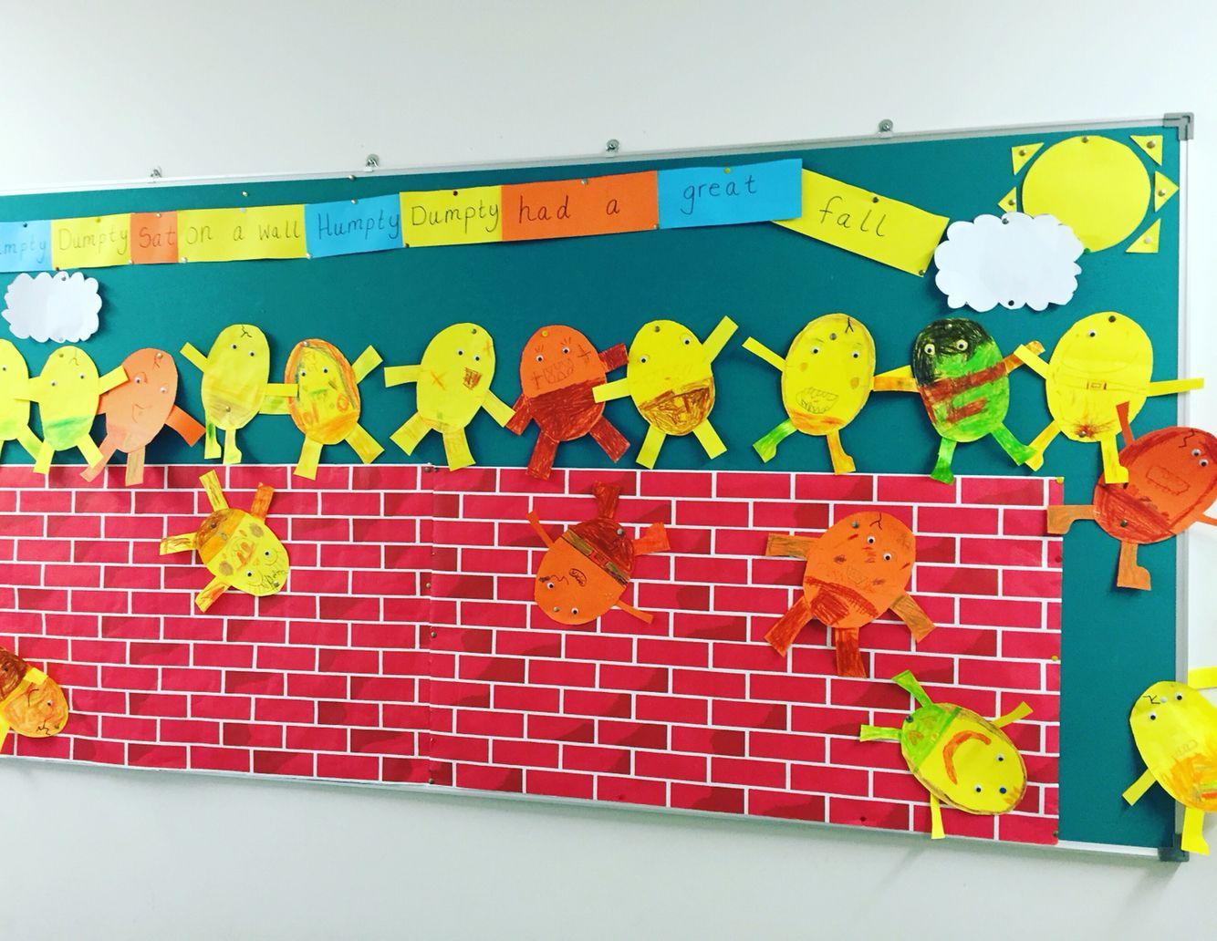 Humpty Dumpty Wall In Junior Infants