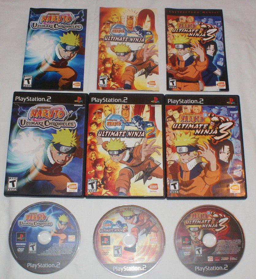 torrent naruto uzumaki chronicles 2 ps2