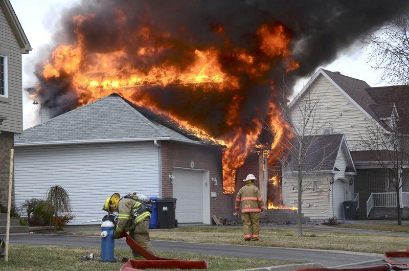 Incendie du 19-04-2013 à Vaudreuil-Dorion (Photo Hebdos du Suroît)