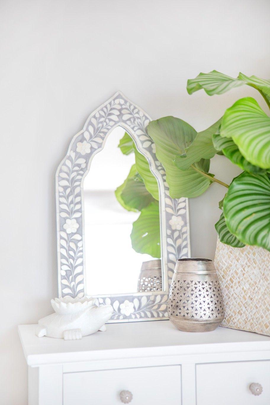 Zauberhafte Intarsien Spiegel geben Deinem Zuhause ein individuelles ...