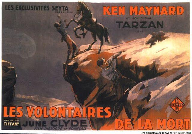 Ken Maynard & Tarzan the wonder horse--decaying hollywood mansion's