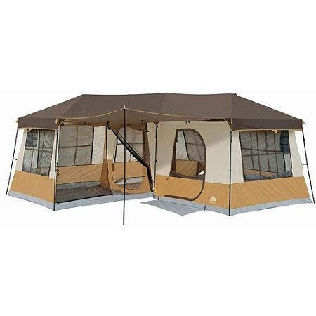 Ozark Trail 12-Person 3-Room Cabin Tent - Walmart.com  sc 1 st  Pinterest & Ozark Trail 12-Person 3-Room Cabin Tent - Walmart.com | indoor ...