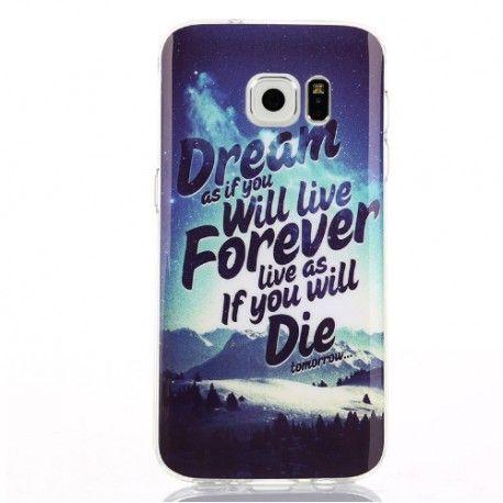 Coque Dream Samsung Galaxy S7   Coque samsung galaxy a3, Coque ...