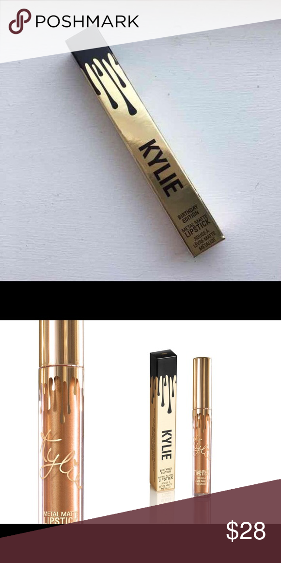 KYLIE COSMETICS LORD Brand new * Kylie Cosmetics * LORD BIRTHDAY SHADE LIMITED EDITION * never used Kylie Cosmetics Makeup Lipstick