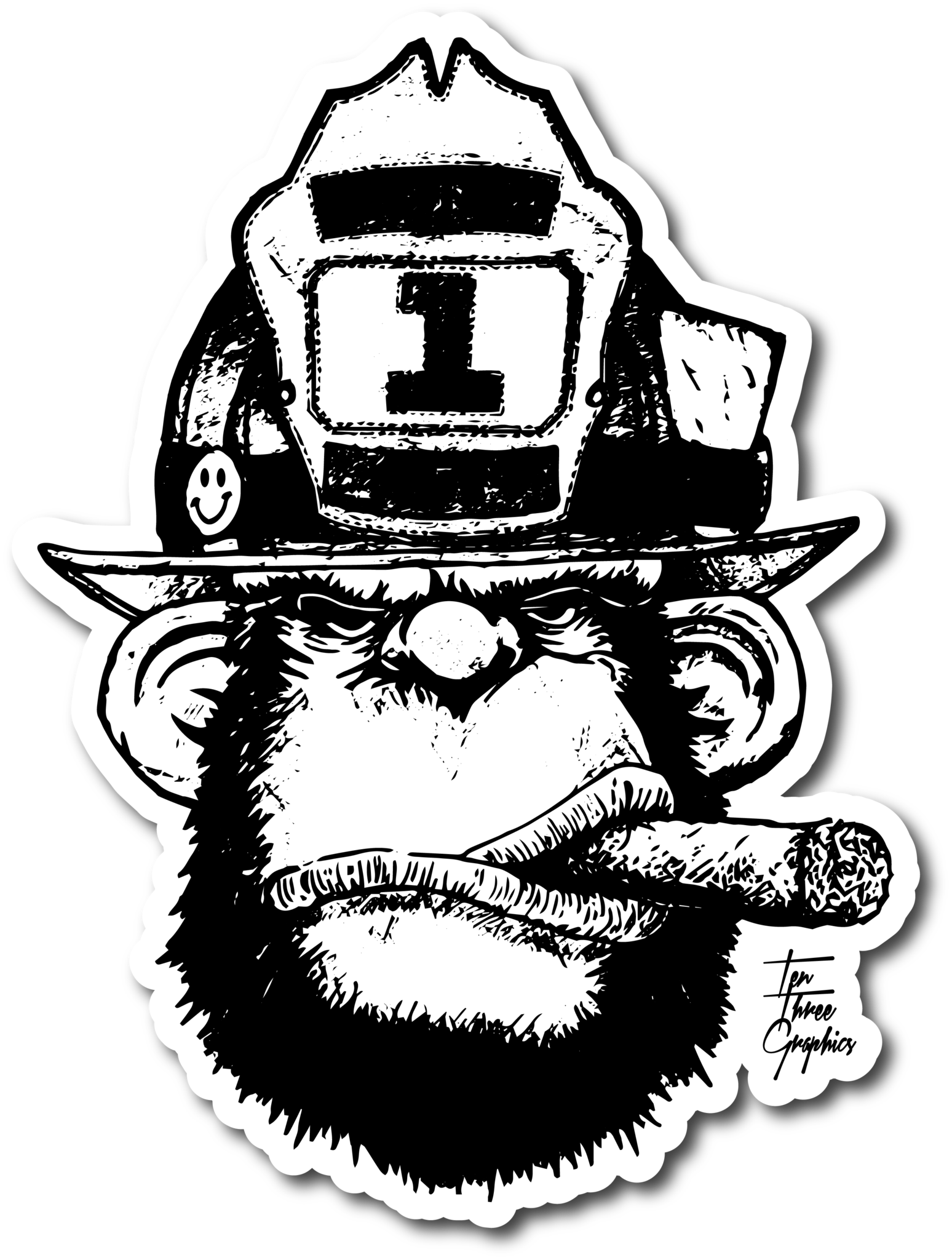 Stretch In Decal Firefighter decals, Firefighter logo