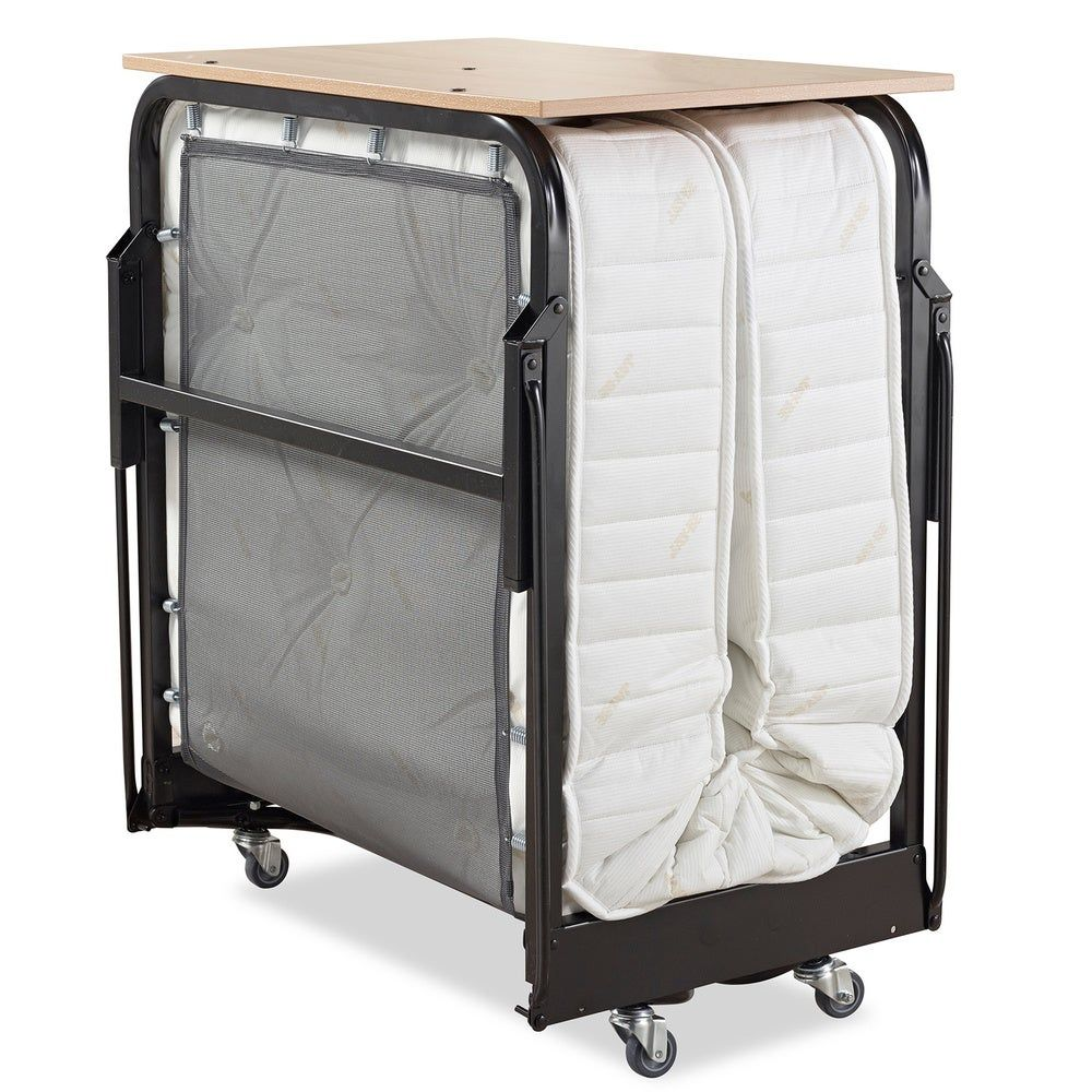 JayBe Hospitality Folding Bed with Deep Spring Mattress