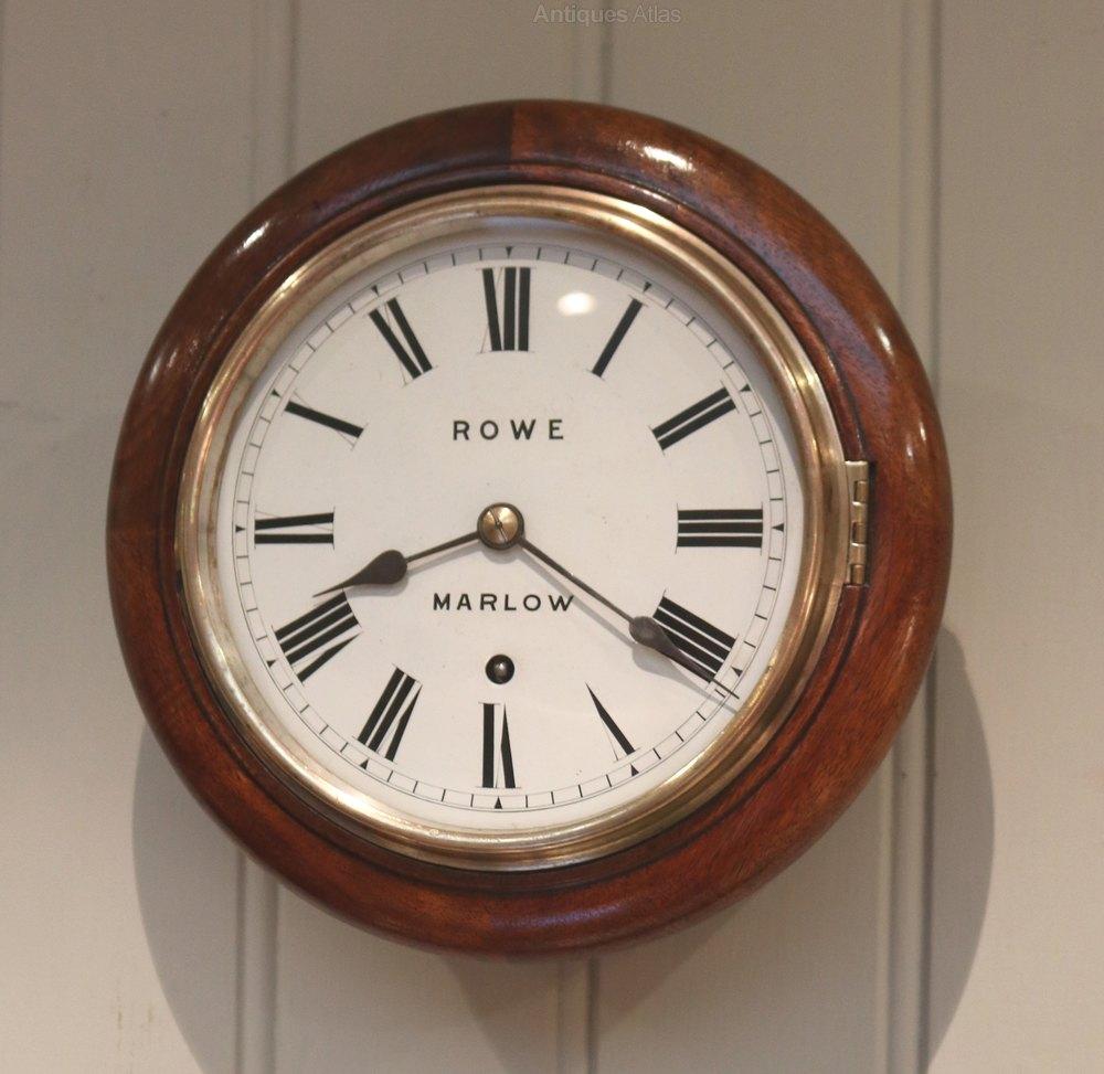 8 Inch Dial Wall Clock In 2020 Clock Antique Wall Clocks Wall