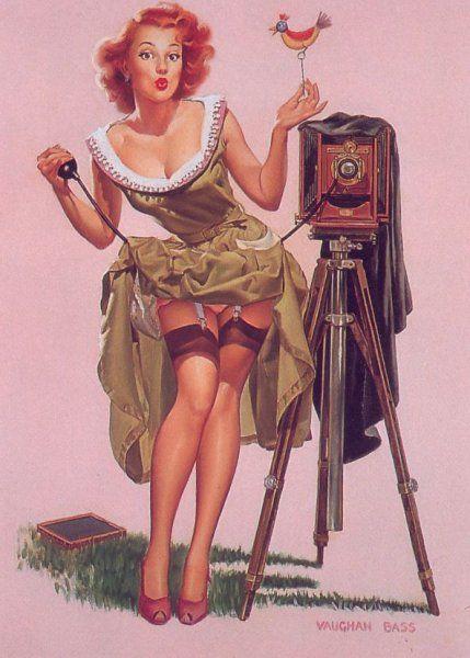 Sailor Beware Gil Elvgren Vintage Pinup Girl Poster