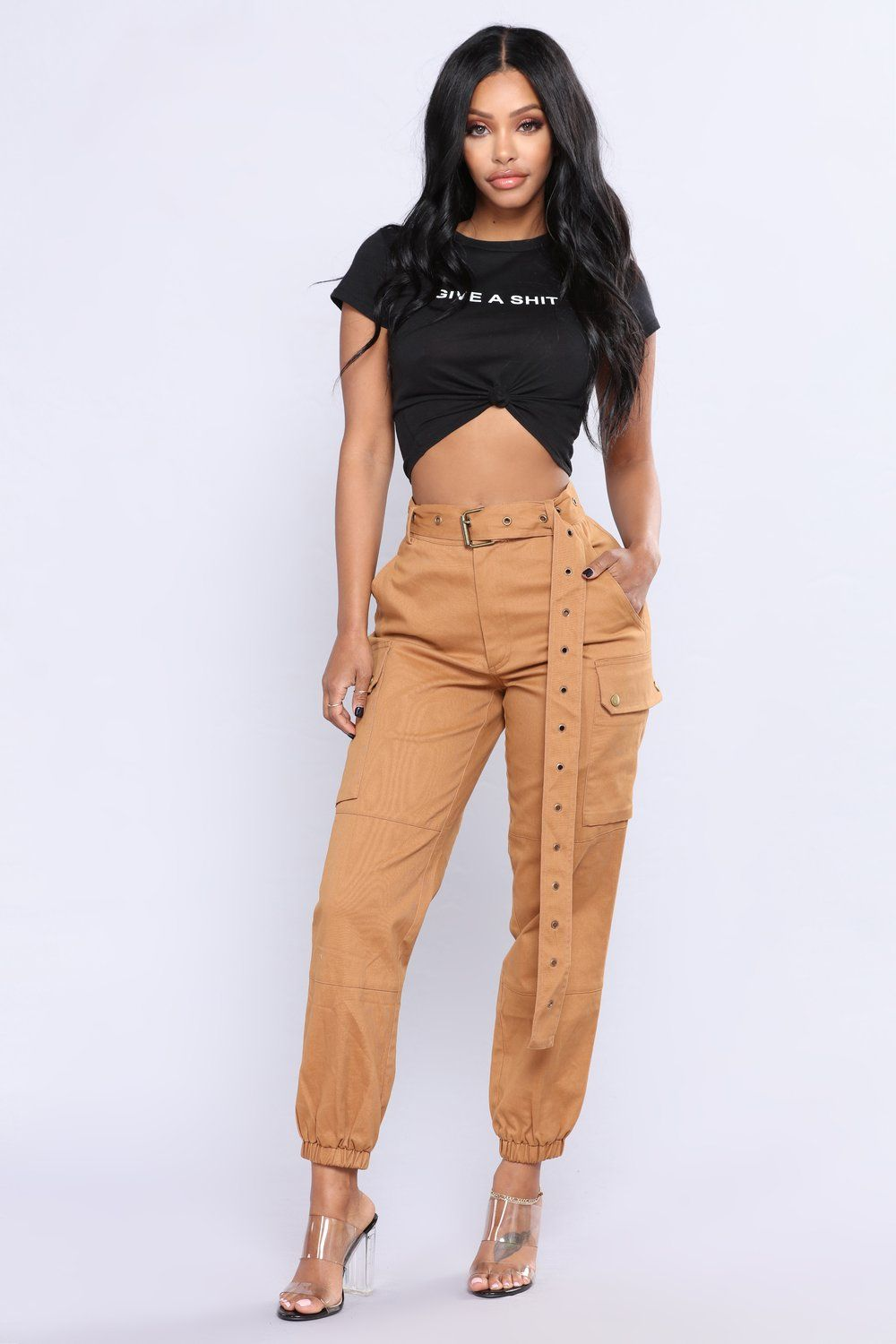 63bccf99bd Cargo Chic Pants - Camel in 2019 | Unspecified List | Cargo pants ...