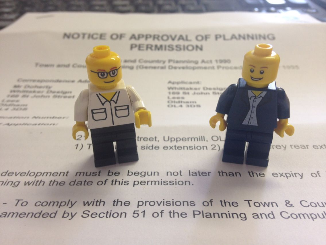 That's another PLANNING APPROVAL obtained for a large residential extension #architecture