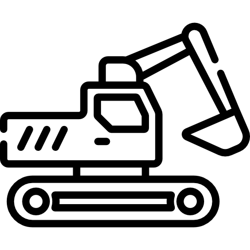 Construction Excavator Free Vector Icons Designed By Freepik Kids Coloring Books Vector Icon Design Tissue Paper Art