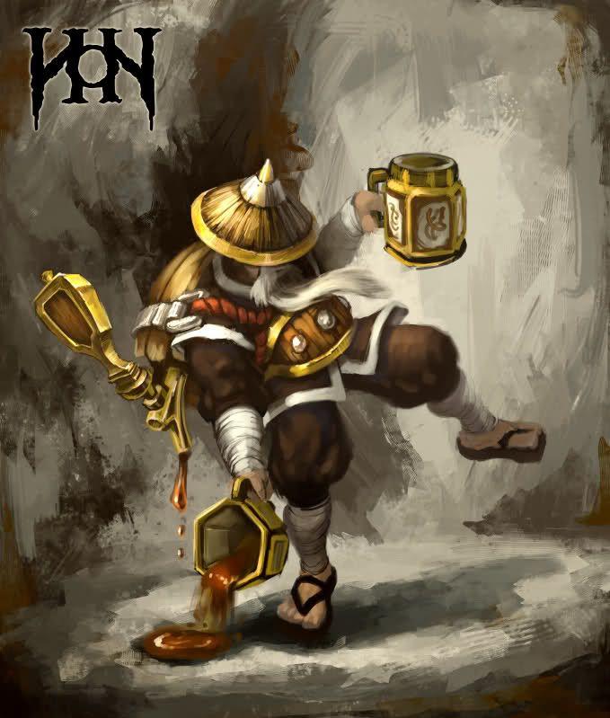 drunken monk pathfinder