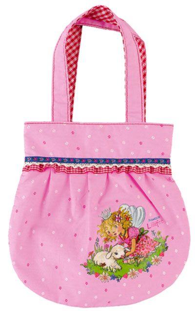 distribuidor mayorista 393fa 0f8ee Bolso para niñas con preciosa impresión, brillo y pedrería ...