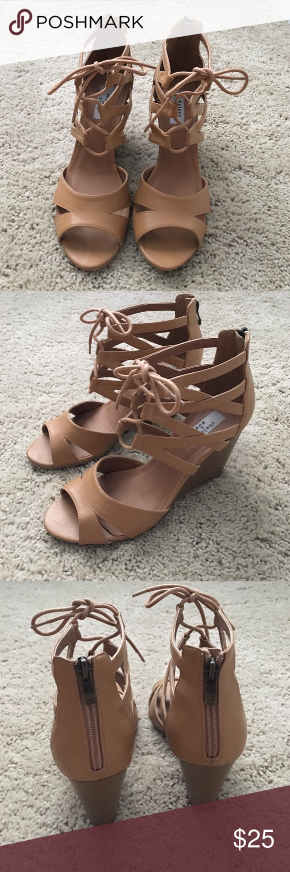 Chelsea & Zoe heels Like new condition! Only worn a couple of times Chelsea & Zoe Shoes Heels