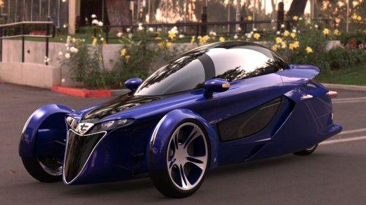 TerraCraft Tilting Enclosed Reverse Trike Concept ...