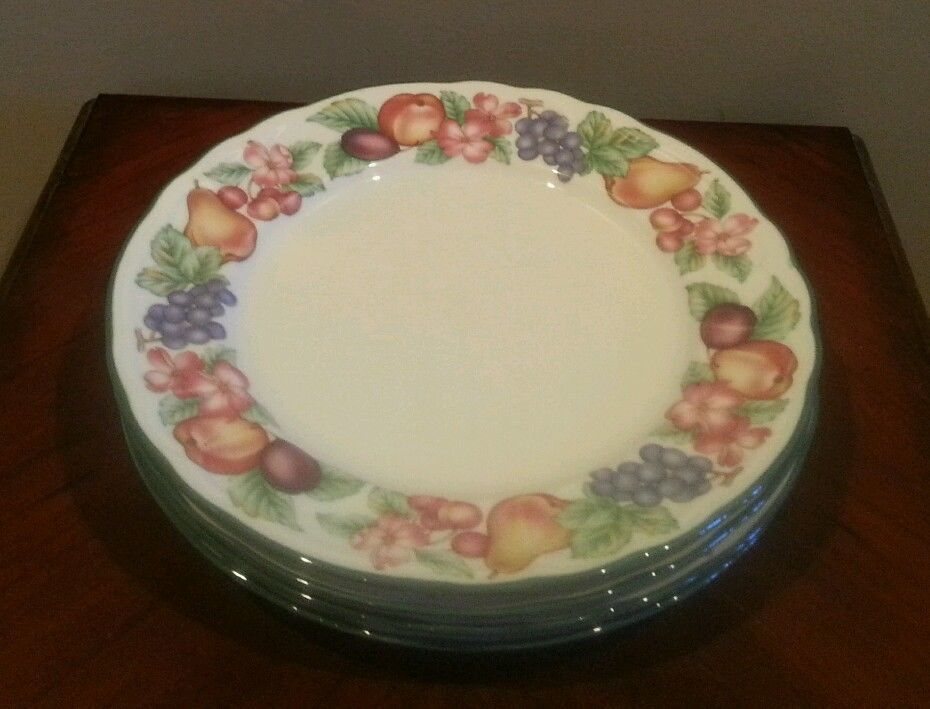 6 Noritake Epoch Collection Salad Plates - Market Day E801 #Noritake & 6 Noritake Epoch Collection Salad Plates - Market Day E801 #Noritake ...