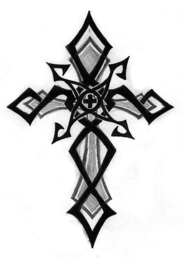 cool tribal cross tattoo designs wwwpixsharkcom