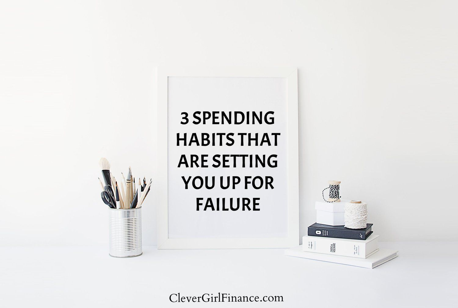 3 spending habits setting you up for failure investing