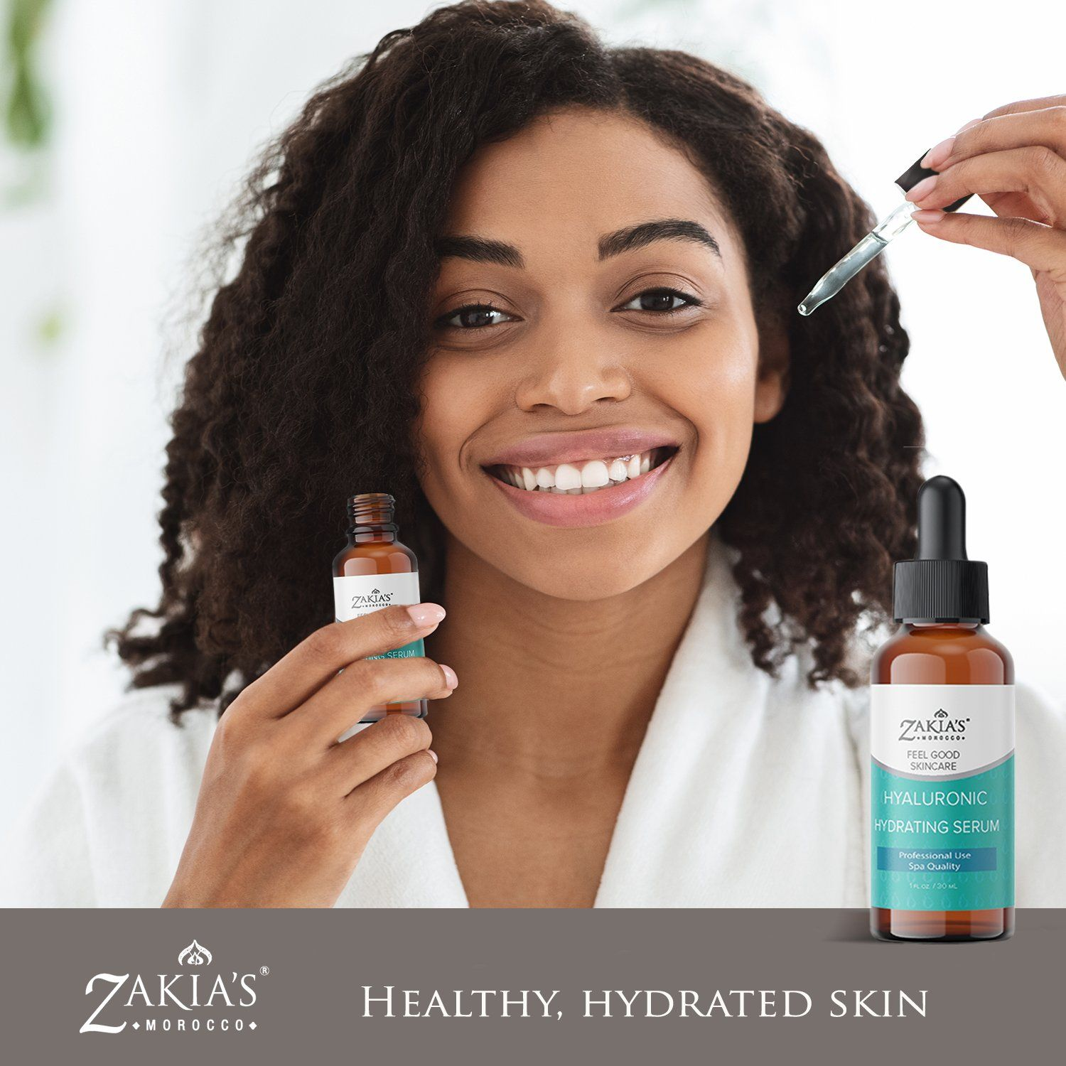 100% pure, natural product - Natural scent (no added fragrance) Help fight wrinkles, fine lines and discoloration Absorbs instantly to lock in skin's natural hydration Anti-aging Can hold up to 1000 times its weight in water!!! Beneficial for all skin types. No PEG, no mineral oil, no silicon, no Parabens! Our natural Hyaluronic Acid Serum will rejuvenate and restore your skin's youthful glow. A super moisturizer, capable of holding up to 1000 times its own weight in water. Our serum's hydrating