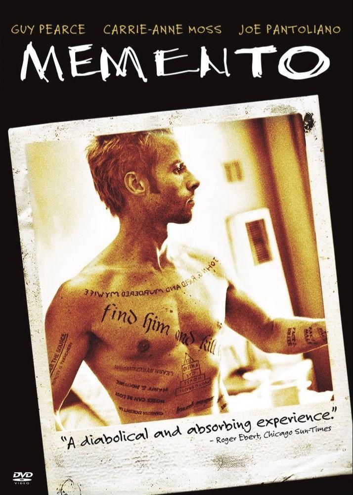 Memento [DVD] [2000] Psychological thriller movies, Best