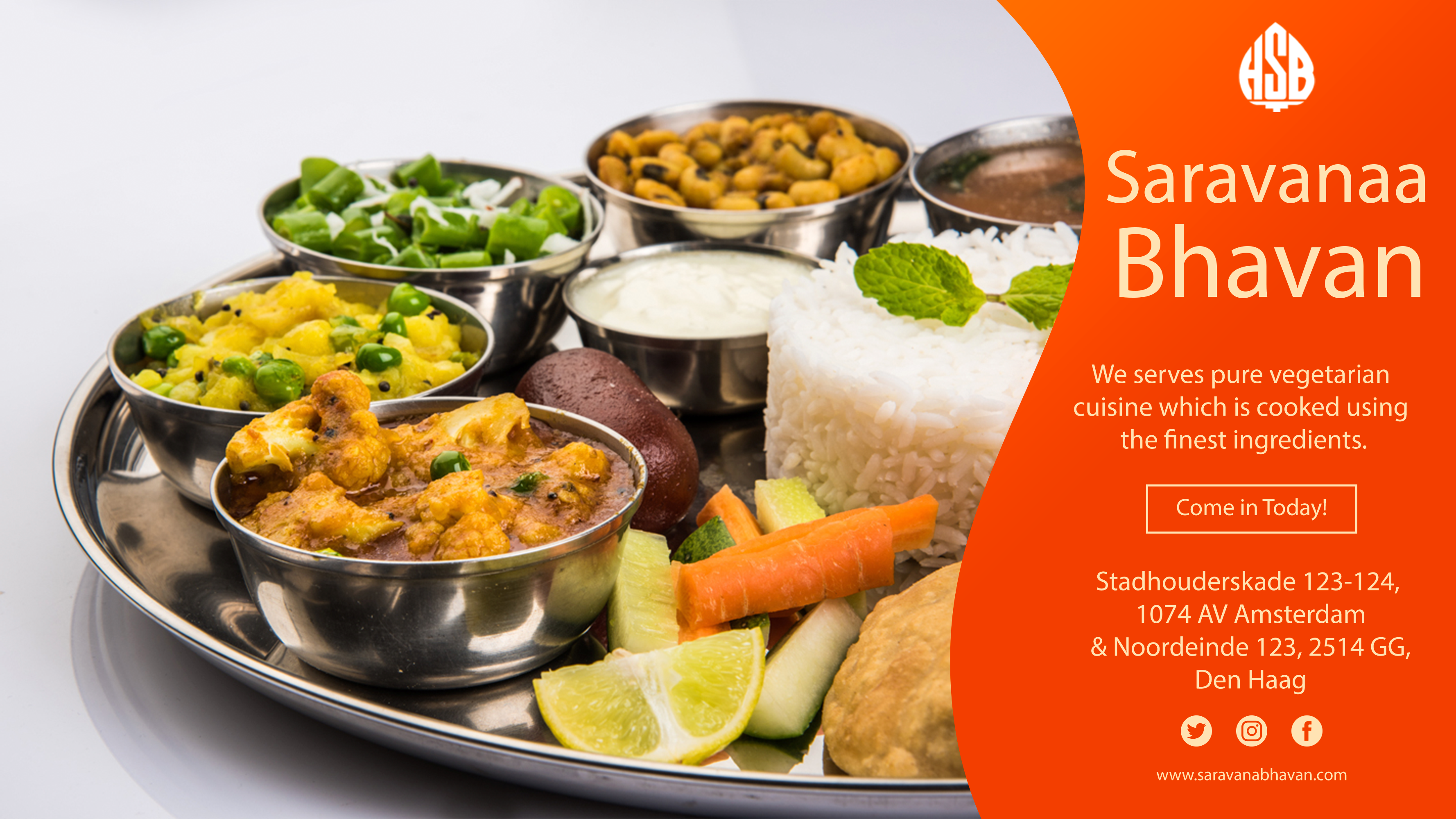 We Serves Purevegetarian Cuisine Which Is Cooked Using The Finest Ingredients Order Online Or Come Dine With Us Today Saravanaabhavan Traditionalfood