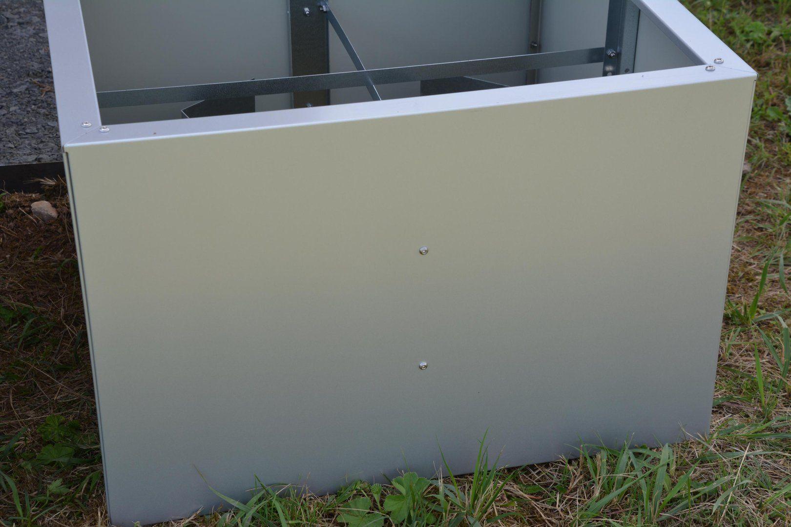 Hochbeet Urban Metall 0 55 X 0 75 M Hohe 0 5 M Lackiert In 2020 Hochbeet Gartenboden Innenhof