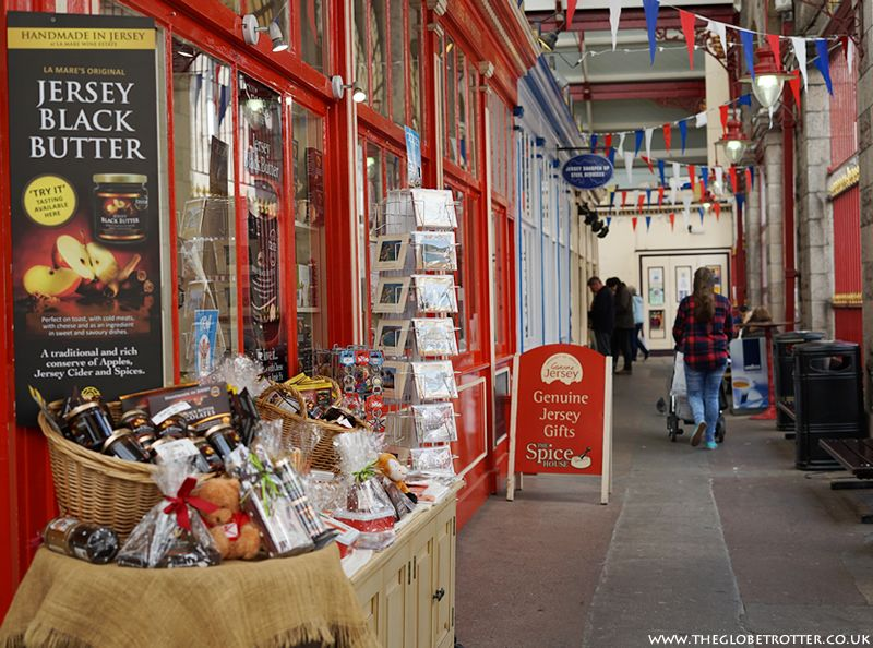 Jersey Channel Islands Central Market St Helier Indonesia