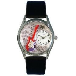 Electric Guitar Watch Classic Silver Style