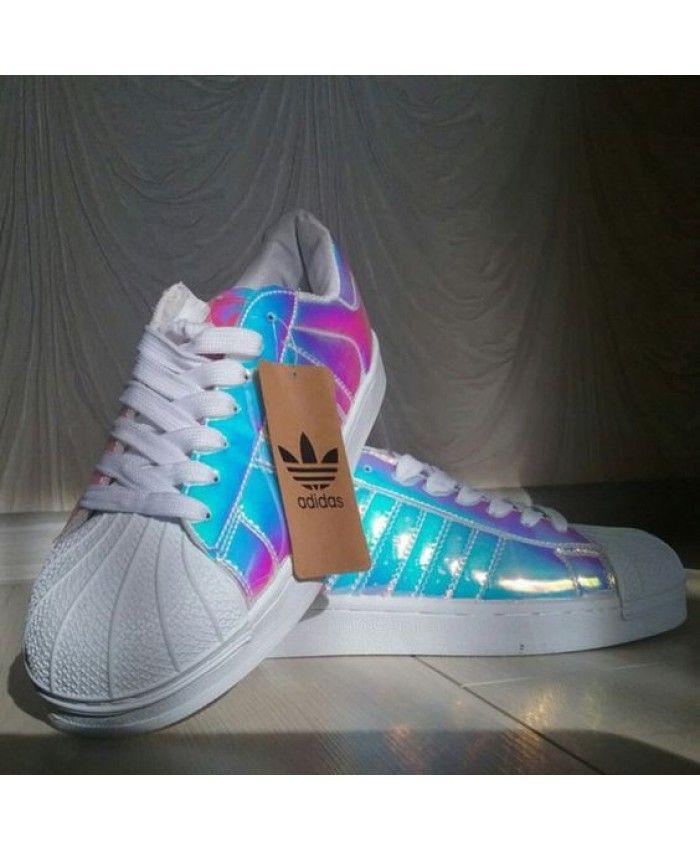 adidas superstar iridescent damen