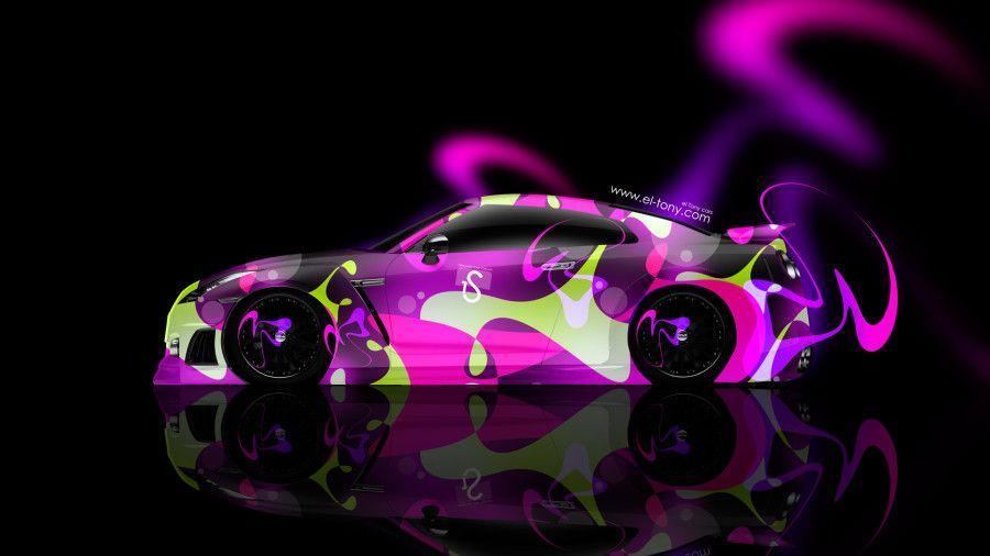 Attrayant Nissan GTR R35 Side Abstract Car 2014 HD