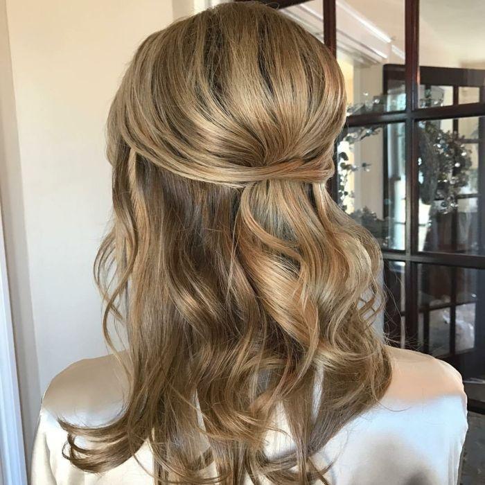 1001 Ideas De Semirecogidos Bellos Y Opriginales Con Tutoriales Peinados Media Melena Fiesta Peinados Peinados Para Poco Pelo
