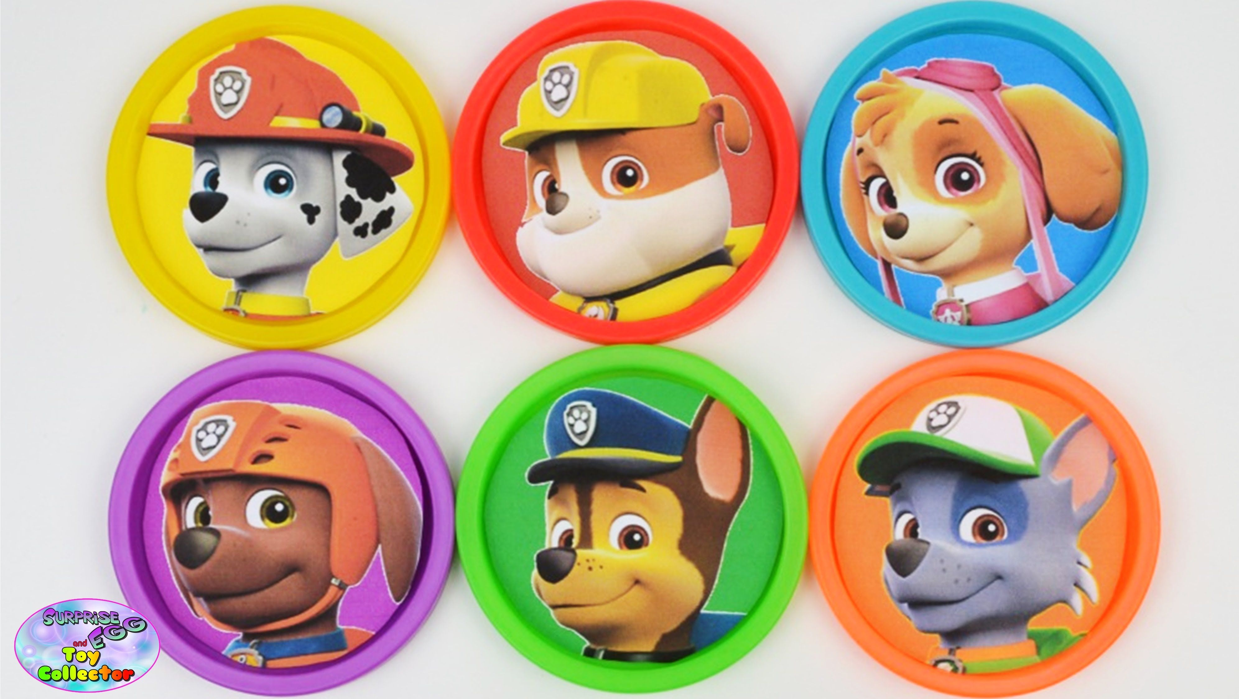 Paw Patrol Learning Colors Play Doh Cans Mlp Zootopia Shopkins Surprise Egg And Toy Collector Setc Learning Colors Toy Collector Play Doh