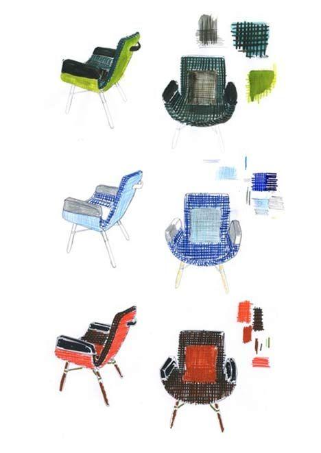 East River Chair by Hella Jongerius voor Vitra