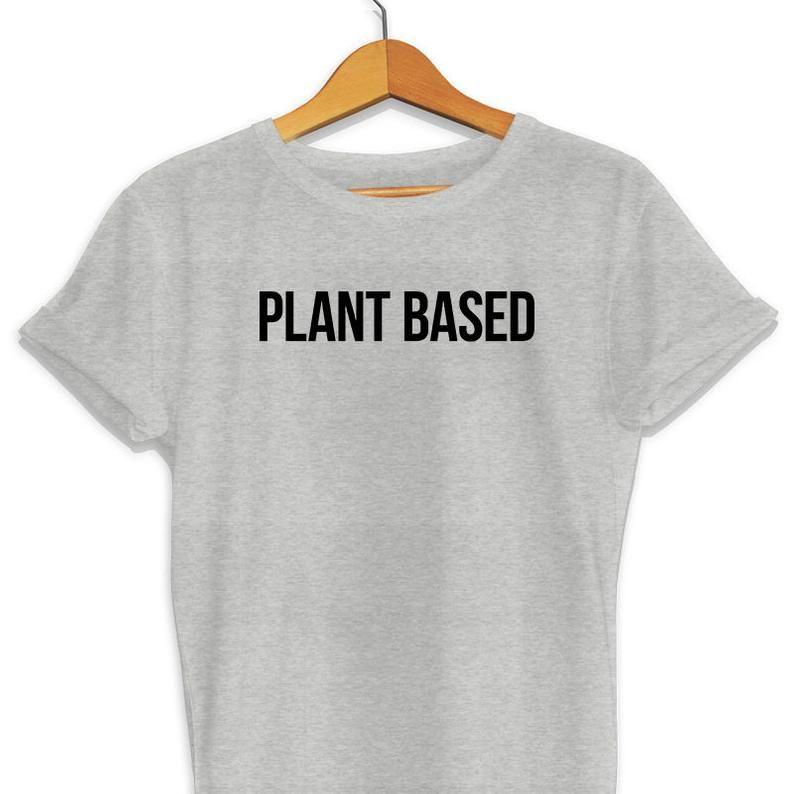 08fa6805 Plant Based T Shirt Plant Based Shirt Vegan Vegan T-Shirts | Etsy ...