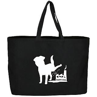 Love that I got 10% off Anti-Puppy Mills Jumbo Tote from ASPCA for $19.98. Share a product for a 10% coupon storewide + free ground shipping over $50!