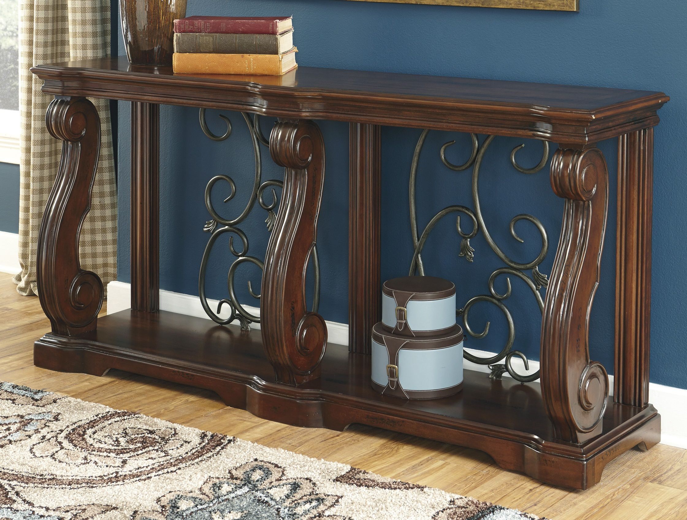 Gaston Sofa Table By Ashley At Crowley Furniture In Kansas City