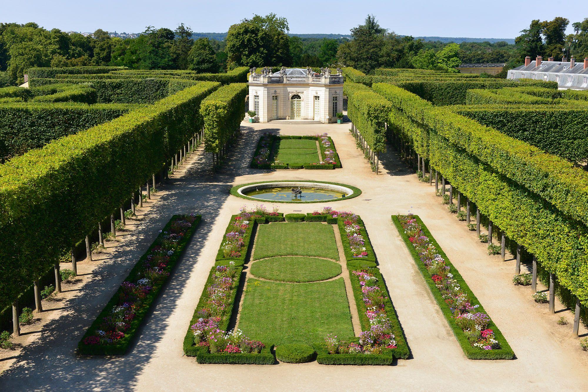 Le Jardin Francais Du Trianon Nomme A L Origine Nouveau Jardin