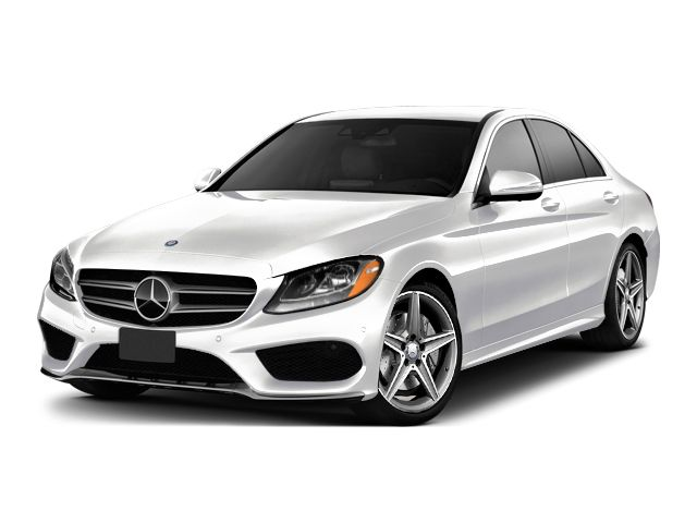 New white 2016 mercedes benz c class c300 sedan in for Mercedes benz new car deals