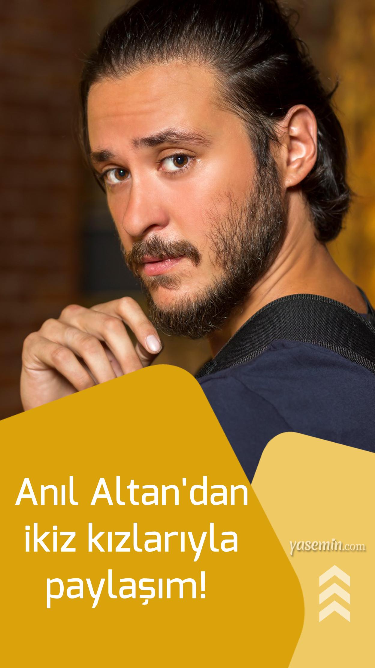 Anil Altan Dan Ikiz Kizlariyla Paylasim Babayla Bas Basa Kalinan Bir Gunden Babalar Ikiz Kizlar