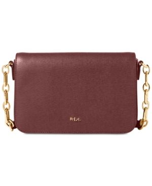 Lauren Ralph Lauren Carmen Small Crossbody Bag - Antique Silver