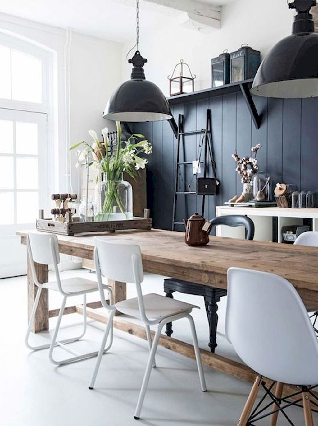 49 gorgeous modern farmhouse dining room design ideas dining rooms rh pinterest com
