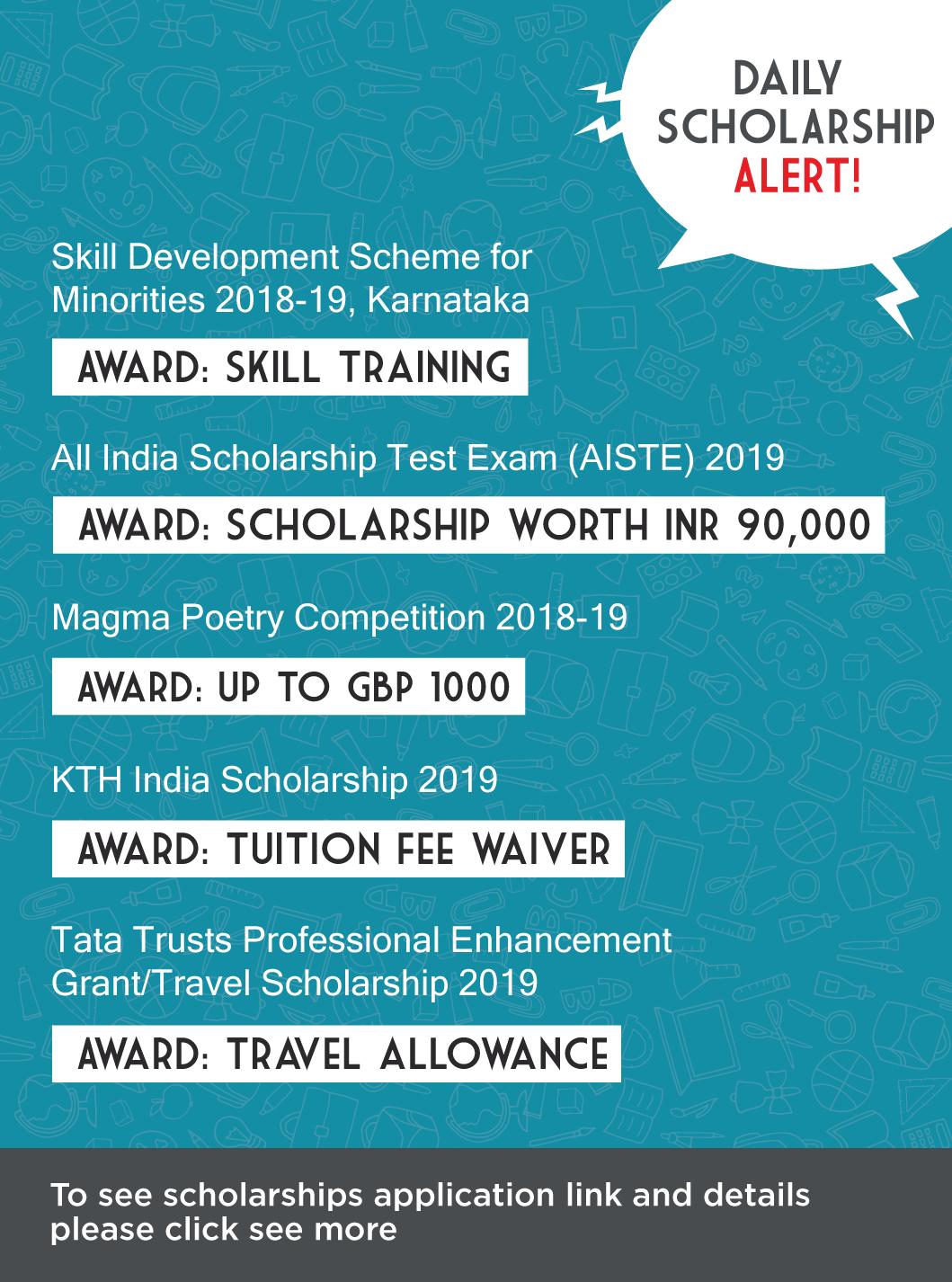 Skill Development Scheme for Minorities 2018-19, Karnataka ...