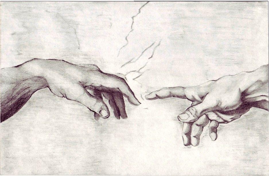 этим картинки рисунки руки микеланджело лучшее